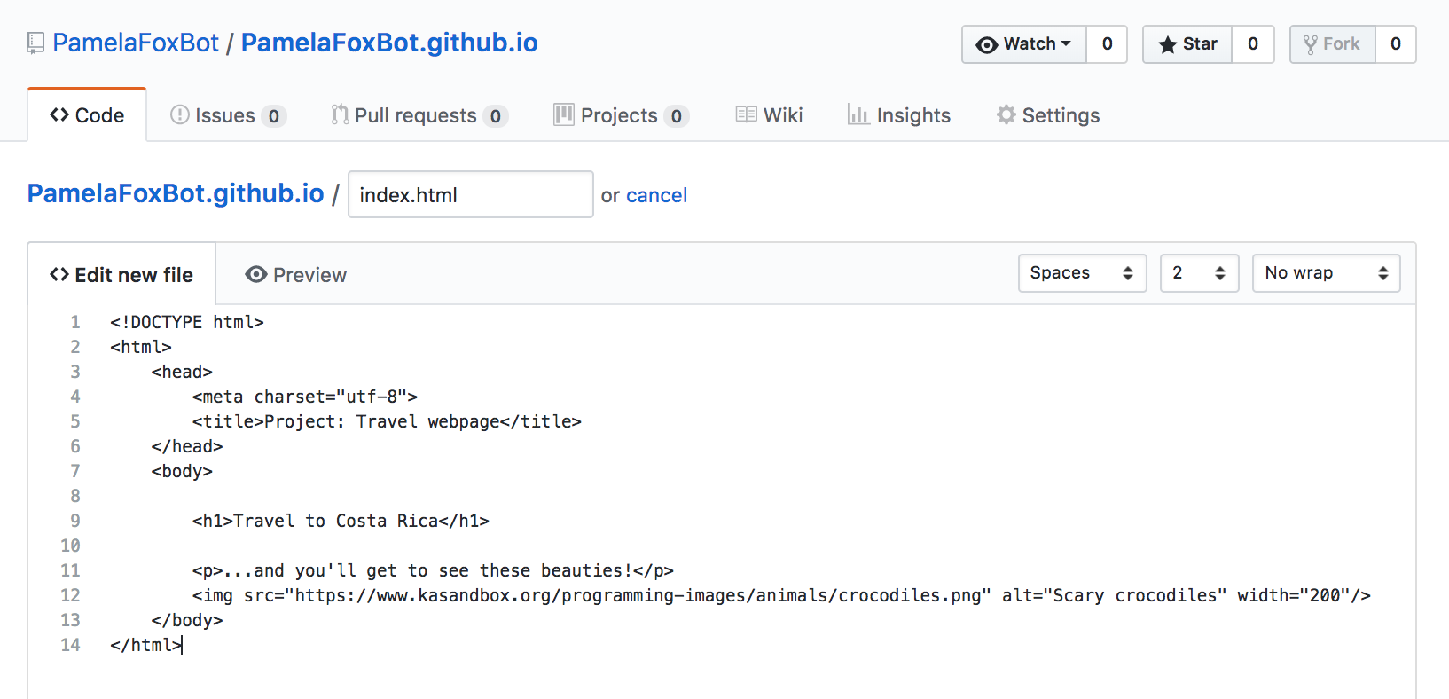 Hosting your website on Github (article) | Khan Academy