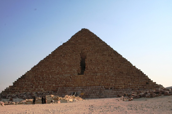 Pyramid of Menkaure (Photo: Dr. Amy Calvert)