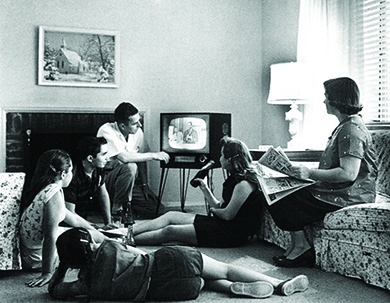 Popular culture and mass media in the 1950s (article)   Khan