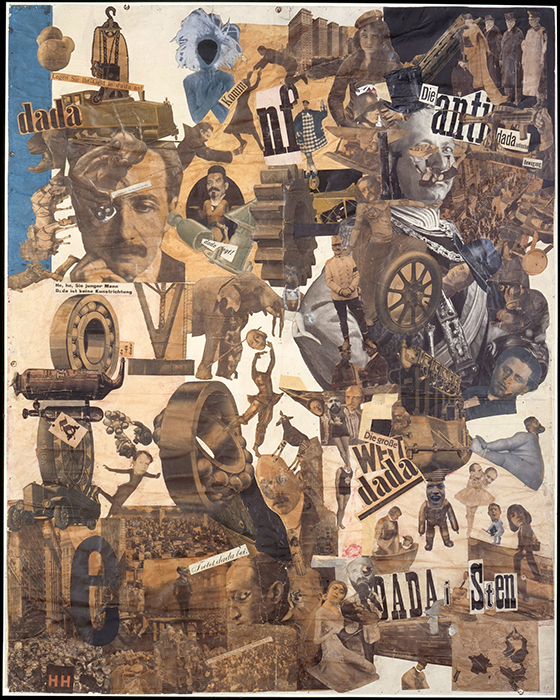 Hannah Höch, Cut with the Kitchen Knife Dada Through the Last Weimar Beer-Belly Cultural Epoch of Germany, collage, mixed media, 1919–1920 (Nationalgalerie, Staatliche Museen, Berlin)