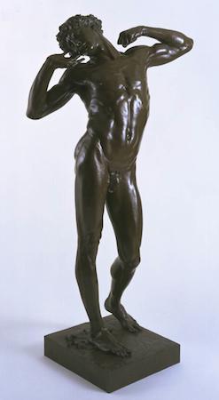 Frederic Leighton, The Sluggard, 1885, bronze, 191.1 x 90.2 cm (Tate Britain, London)