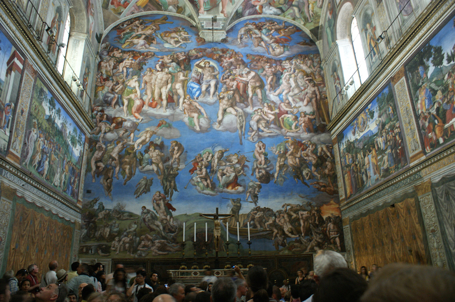 Last Judgment by Michelangelo (article) | Khan Academy