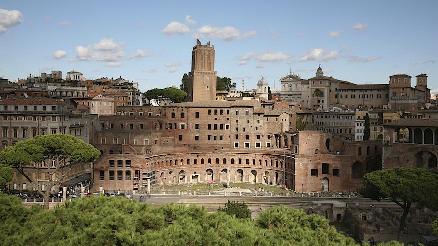 Apollodorus of Damascus, The Markets of Trajan, 112 C.E. (photo: Vašek Vinklát, CC BY-NC-SA 2.0)