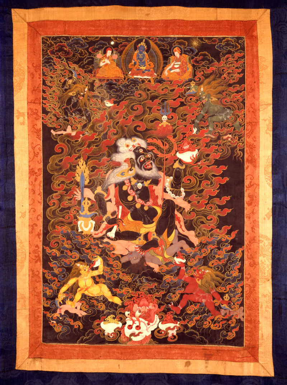 The Buddhist deity Mahakala as a Brahman (article) | Khan