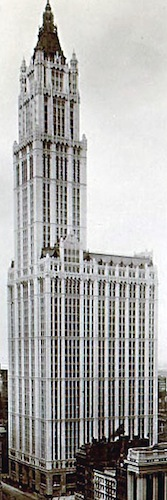 Cass Gilbert, Woolworth Building, 1913 (New York City)
