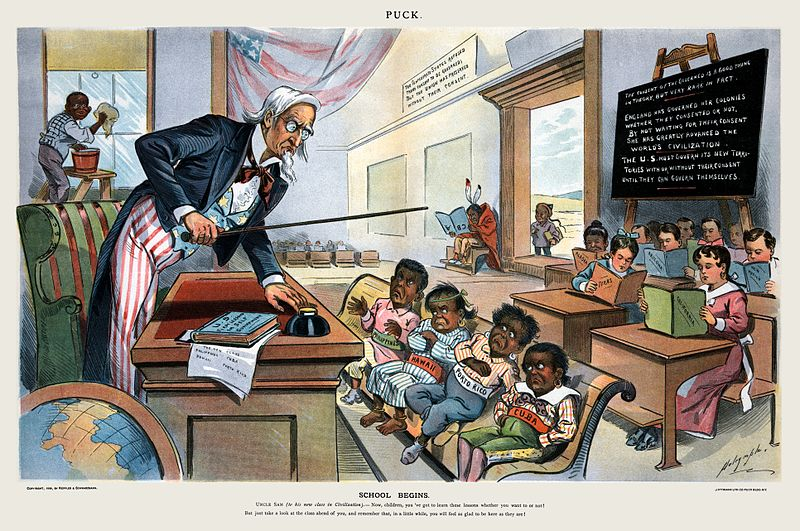 English Language Essays Political Cartoon Showing Uncle Sam Lecturing A Group Of Childlike  Caricatures Depicting The People Of Hawaii Essays About Health also Process Paper Essay Social Darwinism In The Gilded Age Article  Khan Academy My English Class Essay