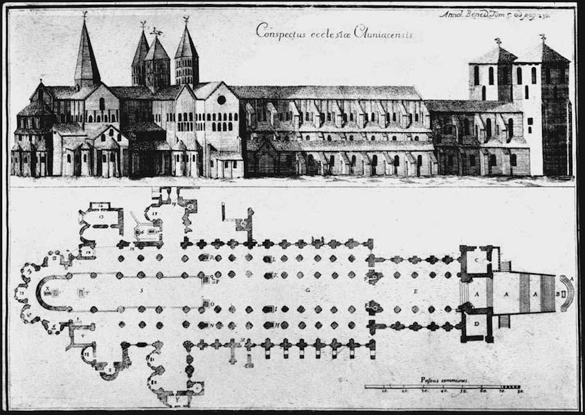 Cluny France Map.Cluny Abbey Article Romanesque Khan Academy