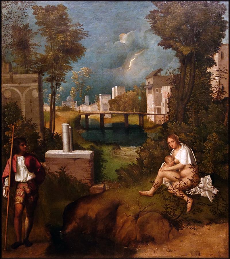 Giorgione, The Tempest, c. 1506-08 (Accademia, Venice)