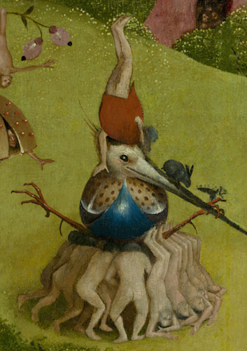 The Garden of Earthly Delights by Bosch (article)