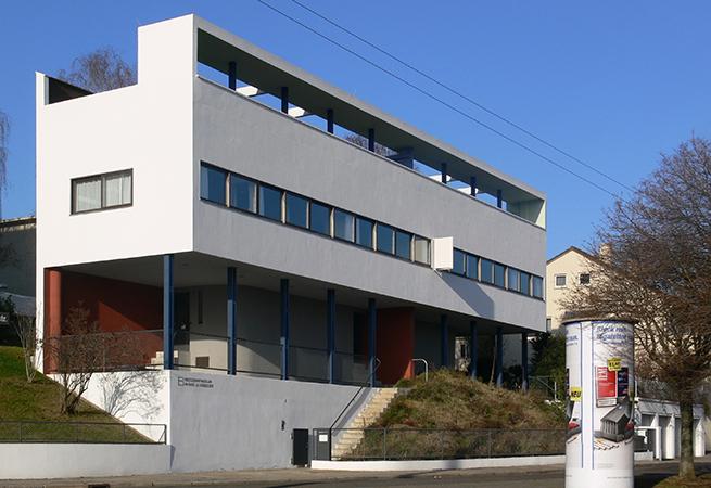 Le corbusier villa savoye article khan academy for Villas weissenhofsiedlung