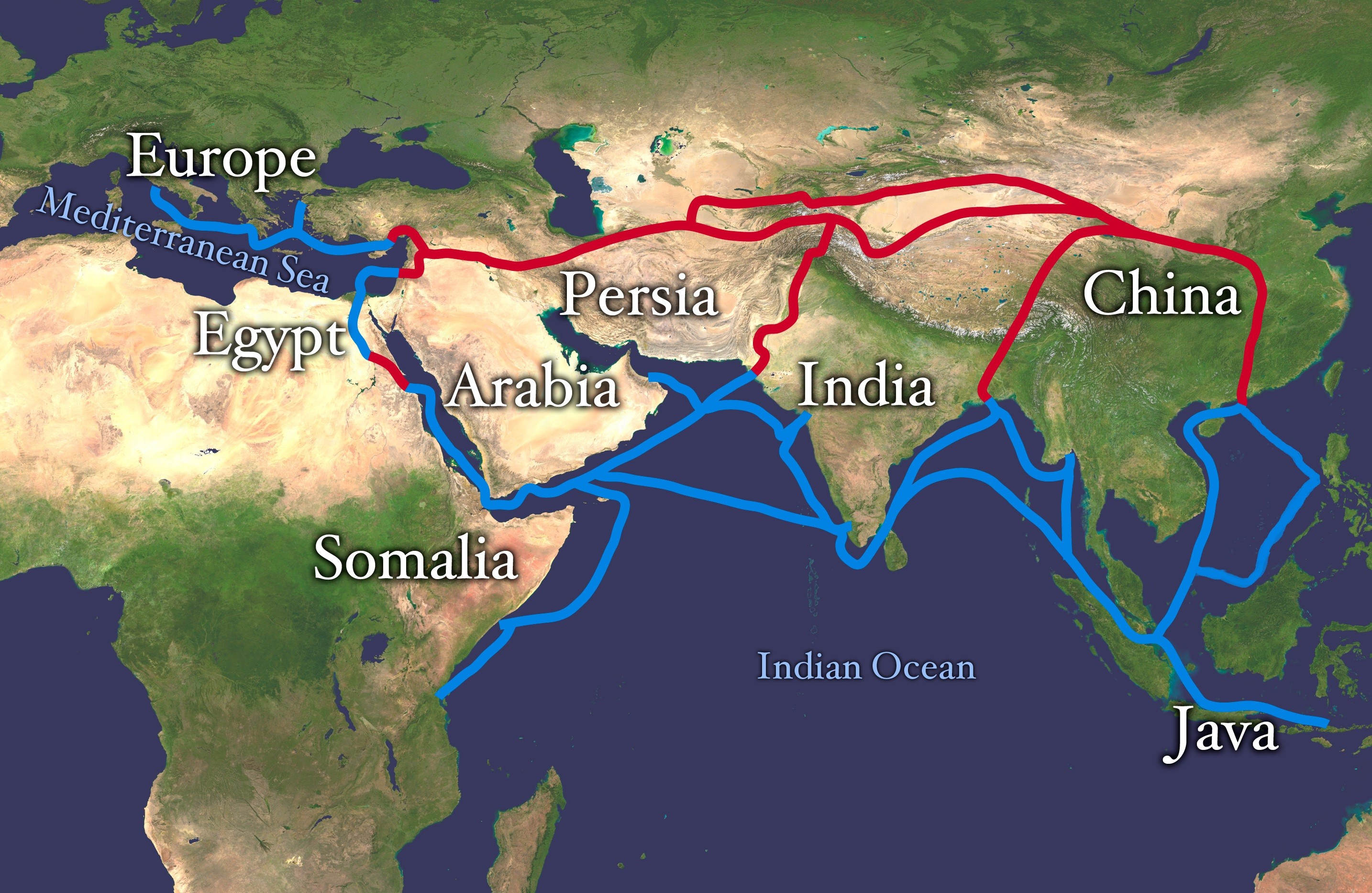The Silk Road (article) | Khan Academy
