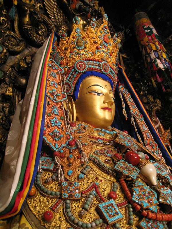 Image result for Jowo Rinpoche, enshrined in the Jokhang Temple
