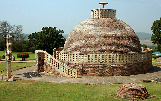 Stupa 3 at Sanchi, 1st century (India)