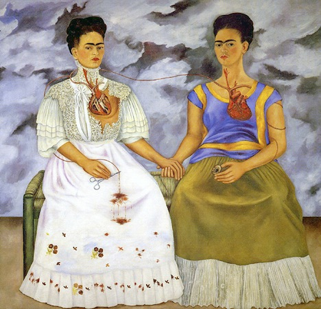 Kahlo, The Two Fridas (Las dos Fridas) (article) | Khan Academy