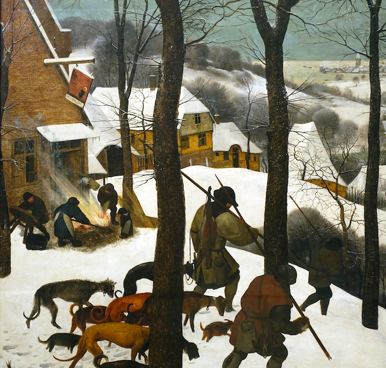 Dutch and Flemish Renaissance Pieter Bruegel Fanny Pack The Hunters in the Snow