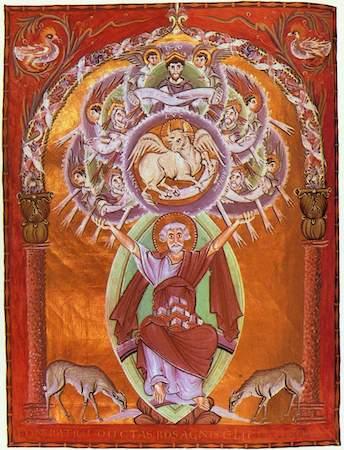 St. Luke, Gospels of Otto III (Munich, Bayerische Stattsbibliothek, Clm.4453)