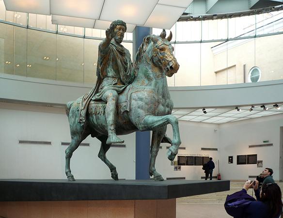 Equestrian Sculpture of Marcus Aurelius (article) | Khan Academy