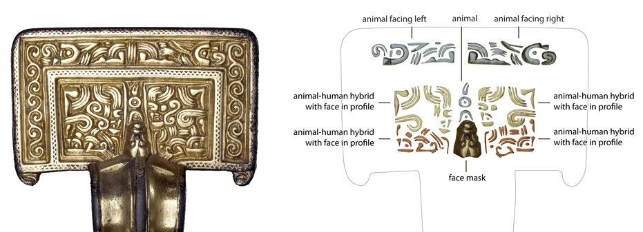 Decoding the square-headed brooch (top) © Trustees of the British Museum