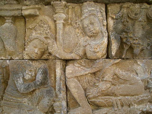 From the Gandavyuha Sutra, Borobudur, photo: Photo Dharma (CC BY 2.0)