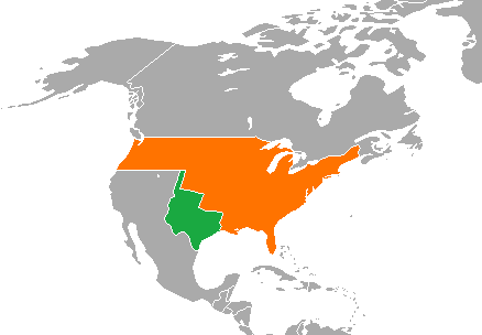 Regions Of Texas Map 4th Grade.Annexing Texas Article Khan Academy