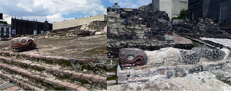 Balaustradas de serpentes e serpentes ondulantes, pedra (foto: Lauren Kilroy-Ewbank)