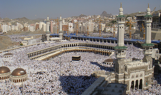The Kaaba at al-Haram Mosque, 2008 (photo: Al Jazeera English, CC: BY 2.0)