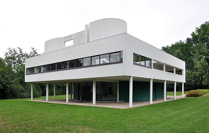 le corbusier villa savoye article khan academy. Black Bedroom Furniture Sets. Home Design Ideas