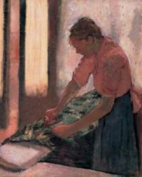 Edgar Degas, Woman Ironing, oil on canvas, ca. 1890 (Walker Art Gallery, Liverpool)