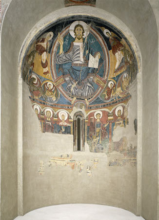 Master of Taüll, apse painting, Sant Clement