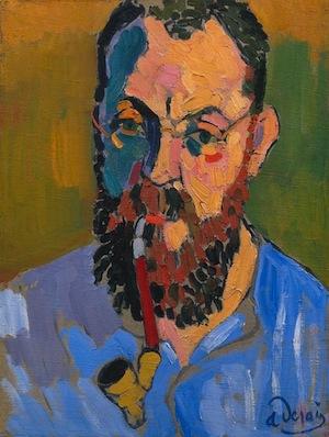 André Derain, Henri Matisse, 1905, oil on canvas, 71 x 60 cm (Tate Modern, London)