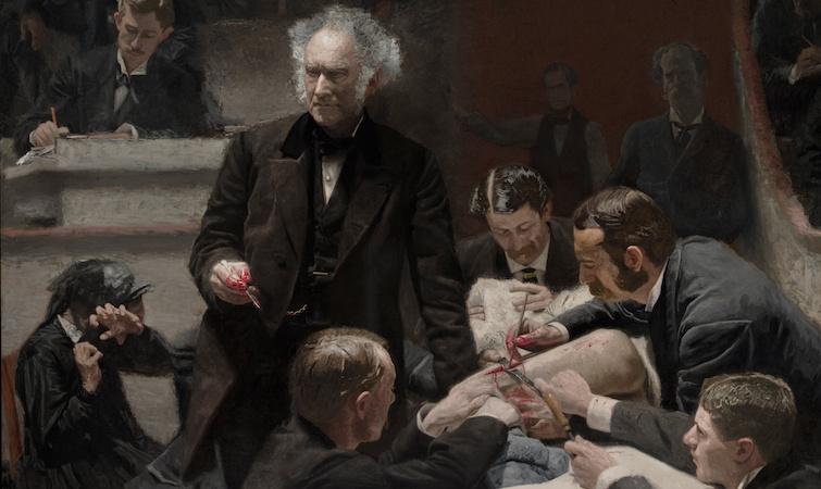 Thomas Eakins, The Gross Clinic, 1875, oil on canvas (Philadelphia Museum of Art & the Pennsylvania Academy of Fine Arts)