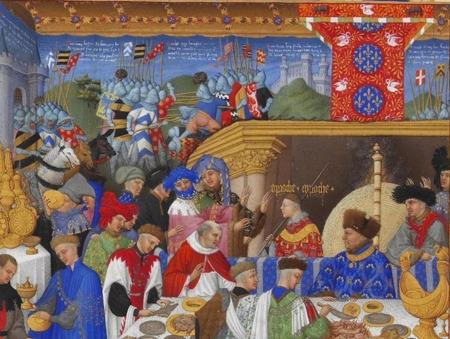 Limbourg brothers, Très Riches Heures du Duc de Berry (article