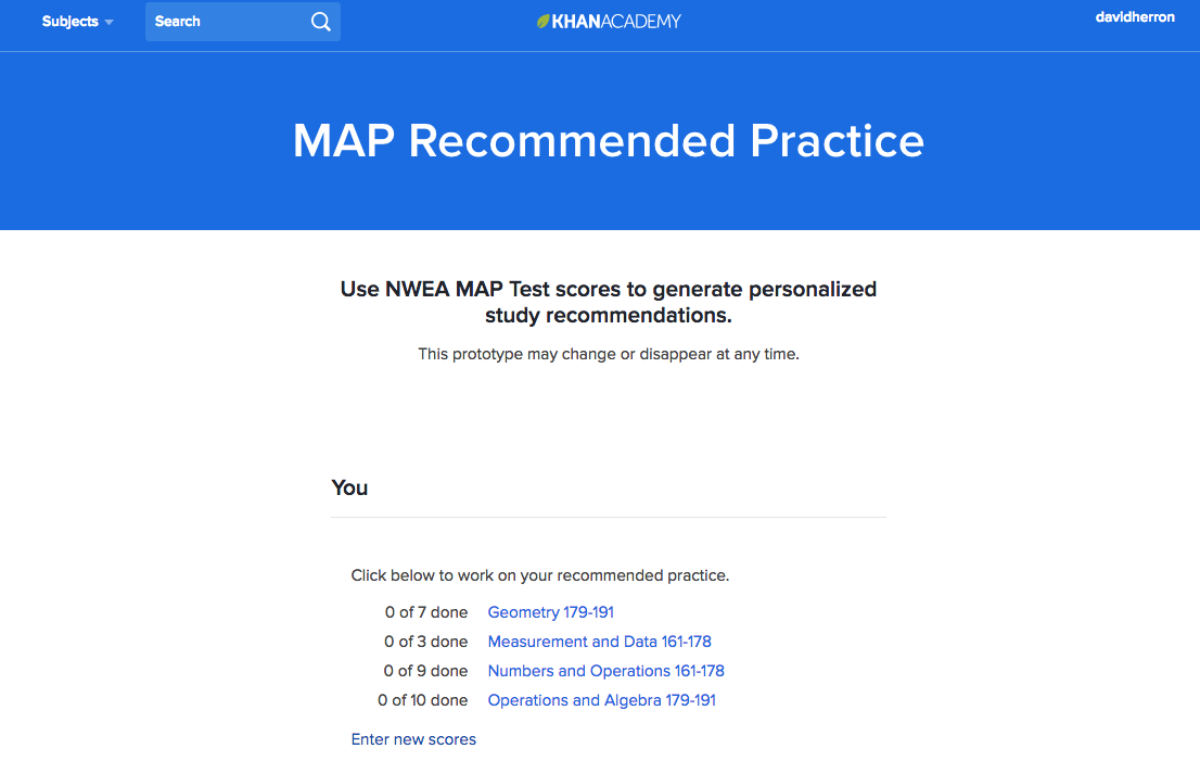 How to use NWEA MAP Recommended Practice (article) | Khan Academy