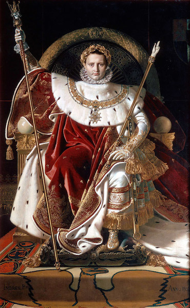 Ingres Napoleon On His Imperial Throne Article  Khan Academy Jeanaugustedominique Ingres Napoleon On His Imperial Throne  Oil Reflection Paper Essay also Best English Essay  Essay Format Example For High School