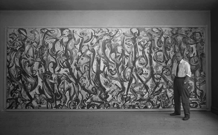Jackson pollock mural article khan academy for Jackson 5 mural