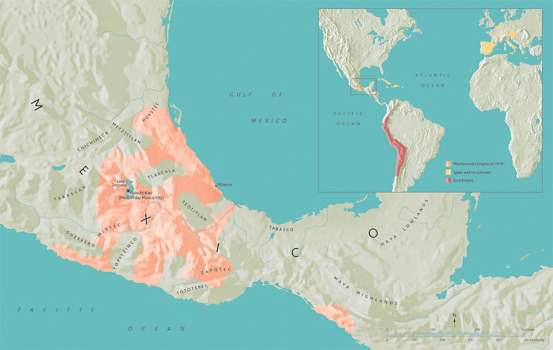 Aztec Empire World Map.Aztec Mexica An Introduction Article Khan Academy