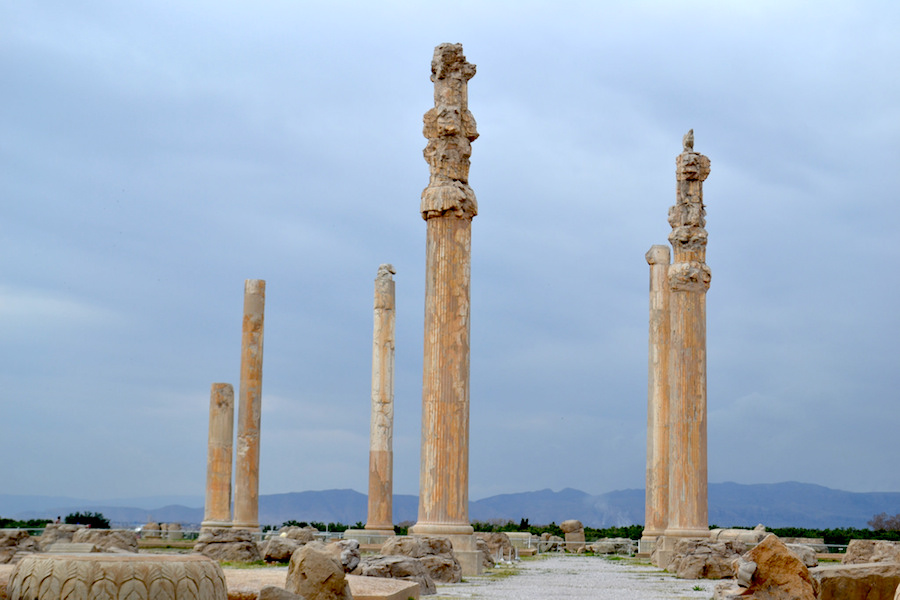 Persepolis The Audience Hall Of Darius And Xerxes Article Khan Academy