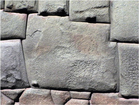 Twelve-sided stone, Cusco, c. 1440-1540, photo by the author (CC BY-NC-SA 2.0)