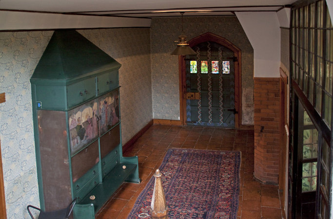 William morris and philip webb red house article khan - Arts and crafts home interior design ...