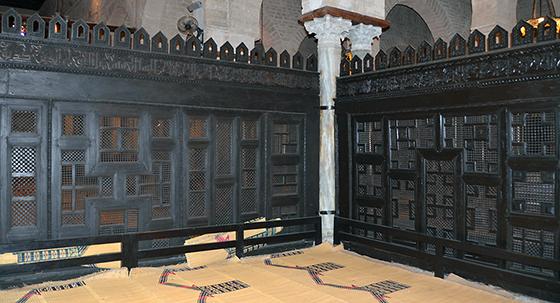 Maqsura, Great Mosque of Kairouan, Tunisia (photo: Prof. Richard Mortel, CC BY-NC-SA 2.0)
