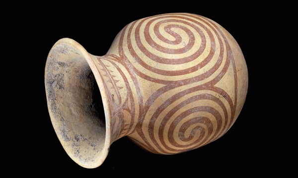Ban Chiang Clay Jar, Ban Chiang, north-eastern Thailand, 1st millennium B.C.E.