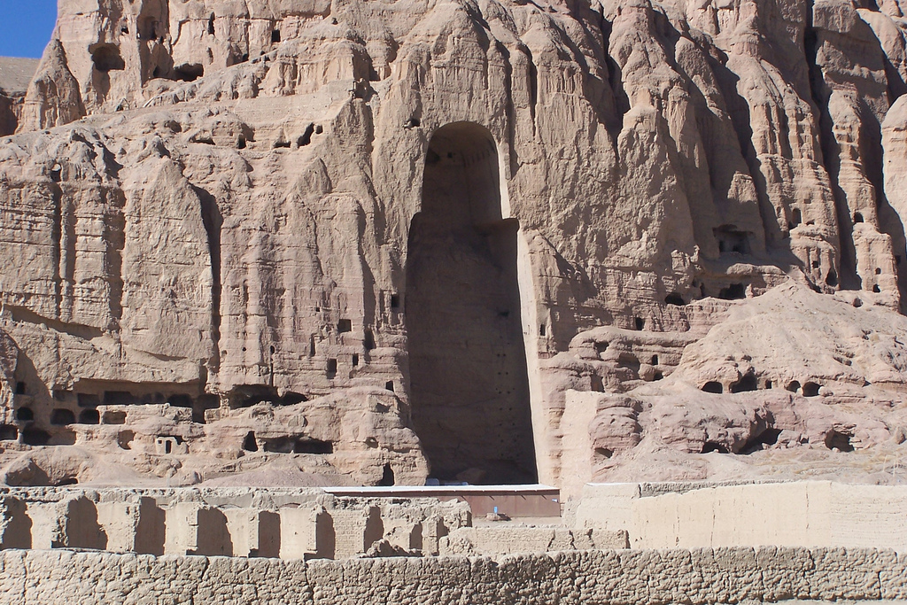 at bamyan in afghanistan predating european