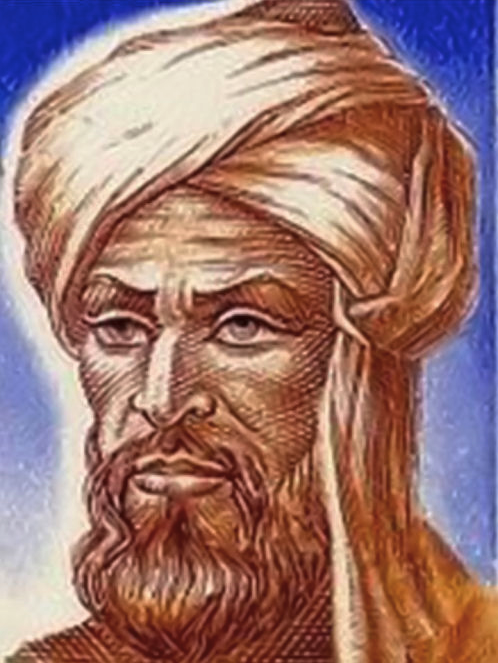 Portrait of Al-Khwarizmi.