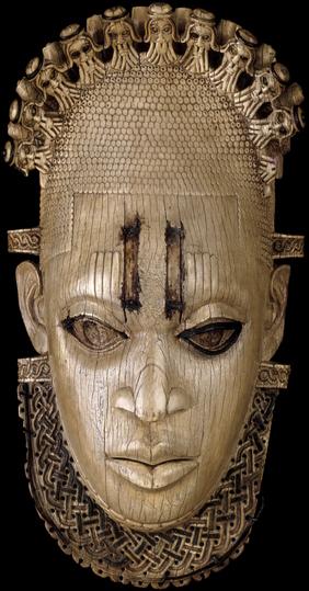 Ivory mask, 16th century, 24.5 x 12.5 x 6 cm, Edo peoples, Benin, Nigeria © Trustees of the British Museum
