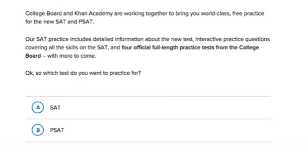 Using Khan Academy's Official SAT Practice (article) | Khan Academy