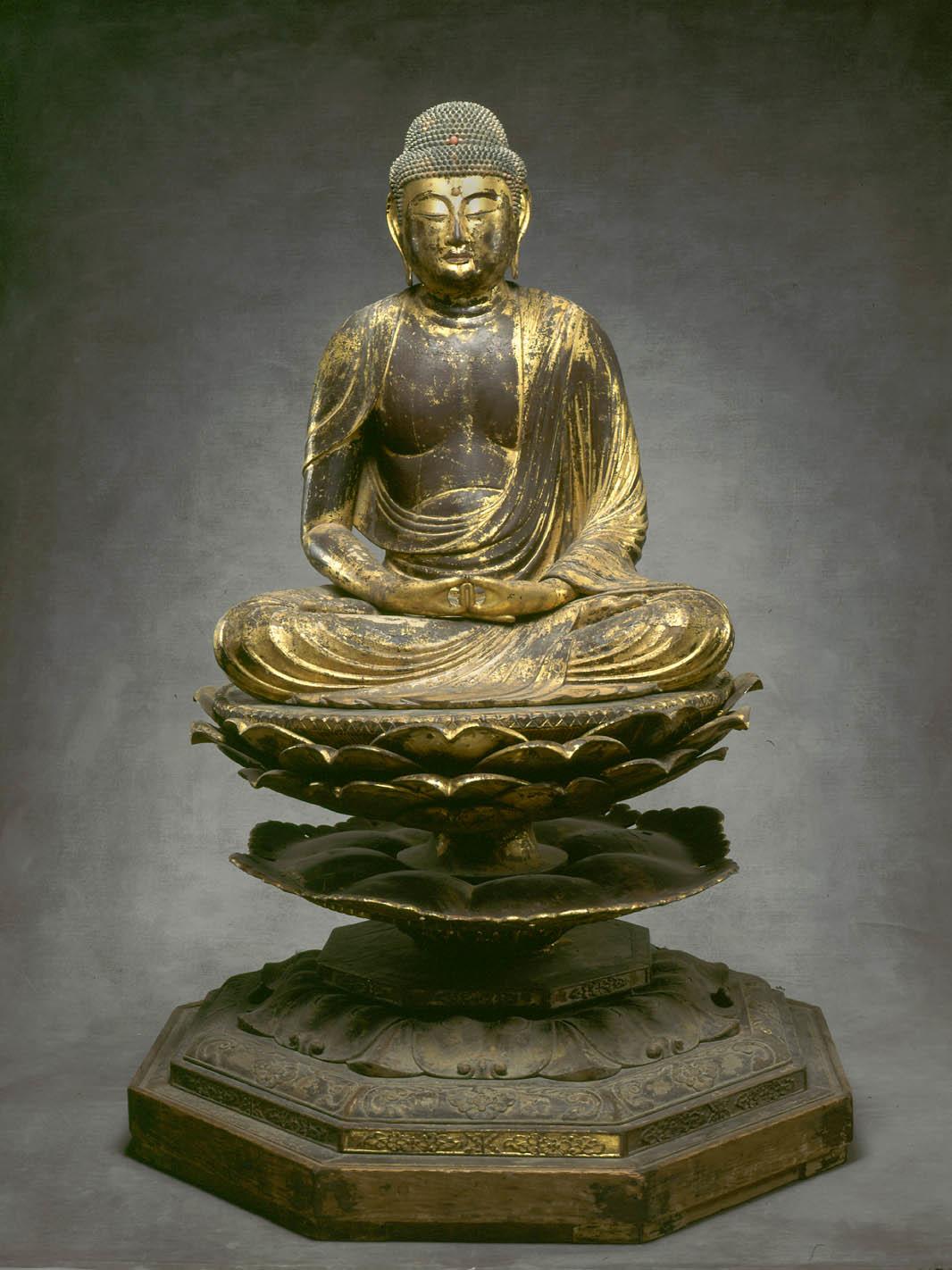 Asian wood drawing buddha history the incorrect