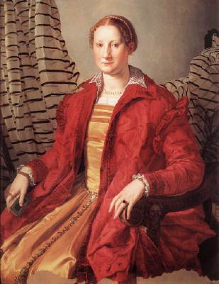 Agnolo Bronzino, Portrait of a Lady, c. 1550, oil on wood, 109 x 85 cm (Gallerie Sabauda, Turin)
