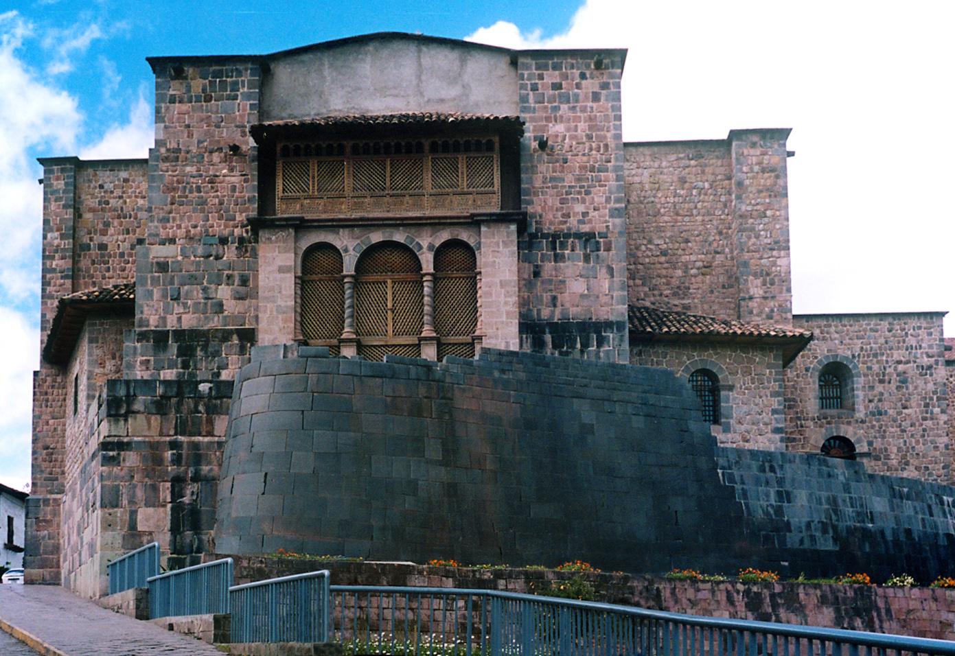 Iglesia de Santo Domingo y Qorikancha, Cusco, Perú (foto: Håkan Svensson, CC BY-SA 3.0)
