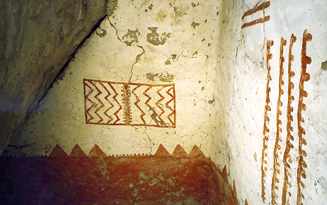Mural 30, Cliff Palace, Mesa Verde National Park (photo: National Park Service)