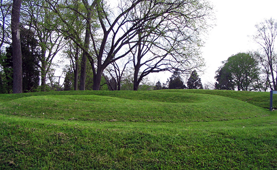 artisans of which culture created the great serpent mound